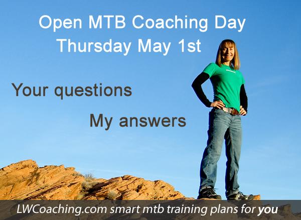 mountain bike open coaching day
