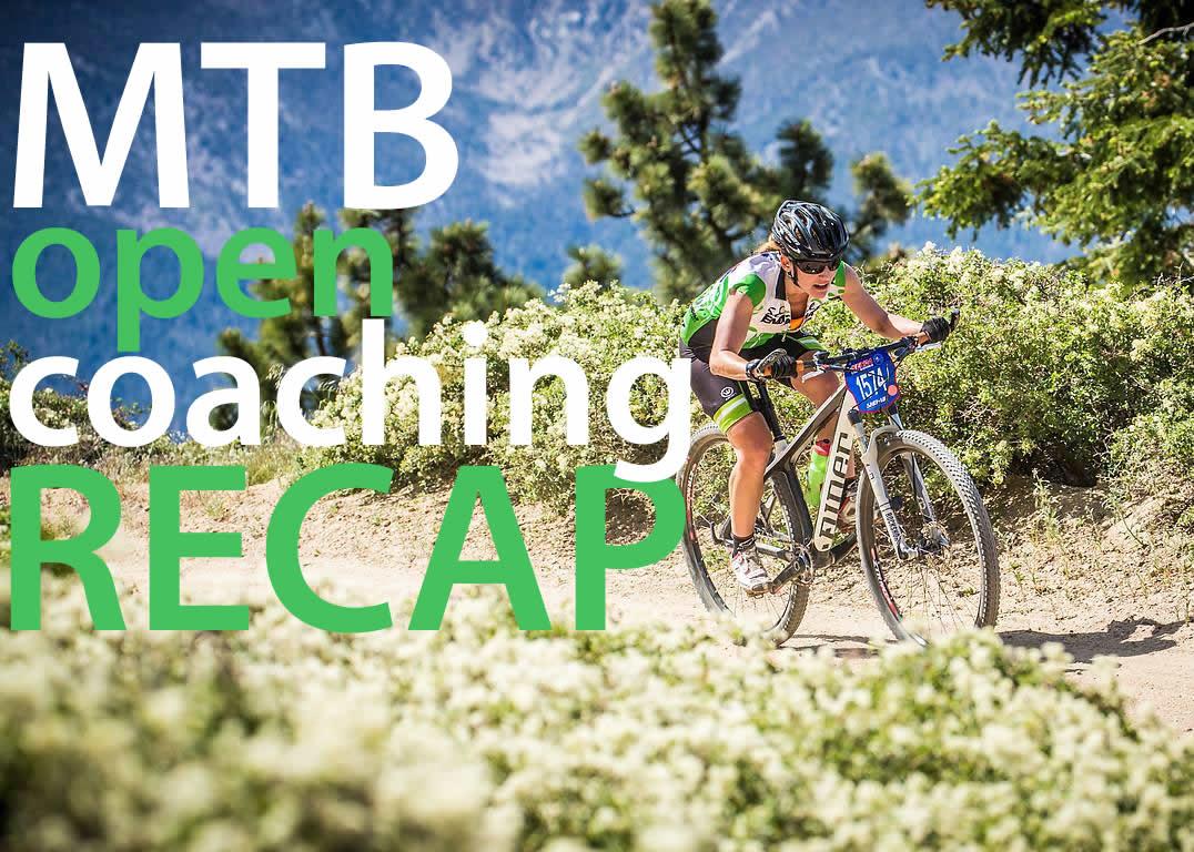 MTB coaching day recap