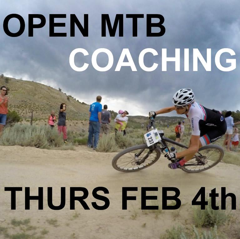 Feb 4th 2016 Open coaching day