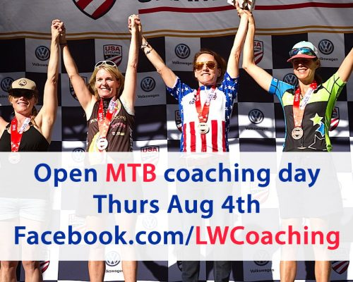 August 2016 open coaching day