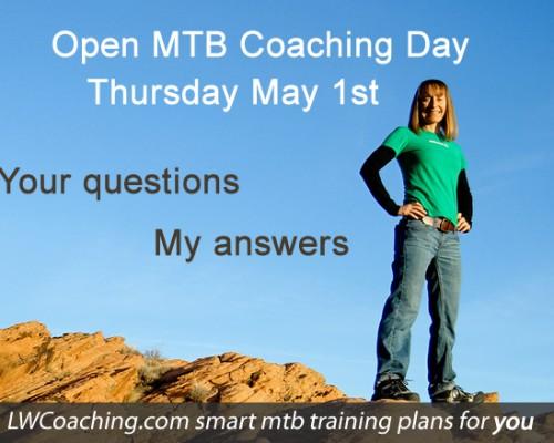 MTB coaching day, May 1st