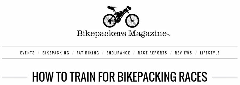 training for bikepacking races