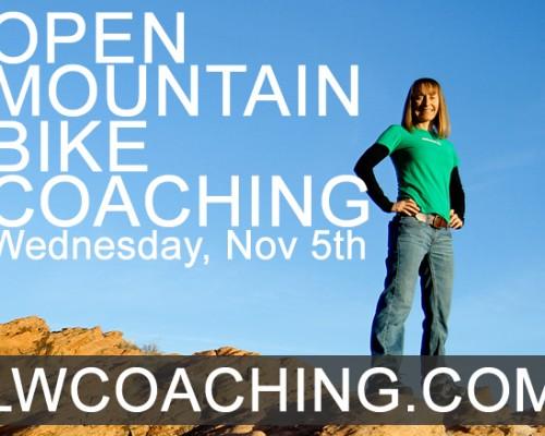 open mountain bike coaching day