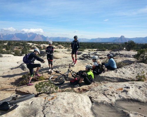 Gooseberry Mesa womens MTB skills camp