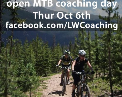 open mountain bike coaching day